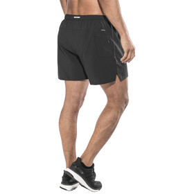 "saucony Throttle 5"" Woven Shorts Men Black"